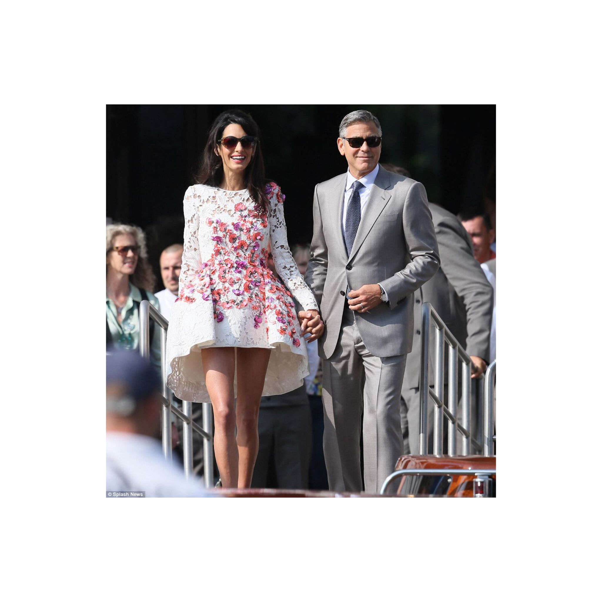 Congratulation To The Newly Weds George Clooney And Amal