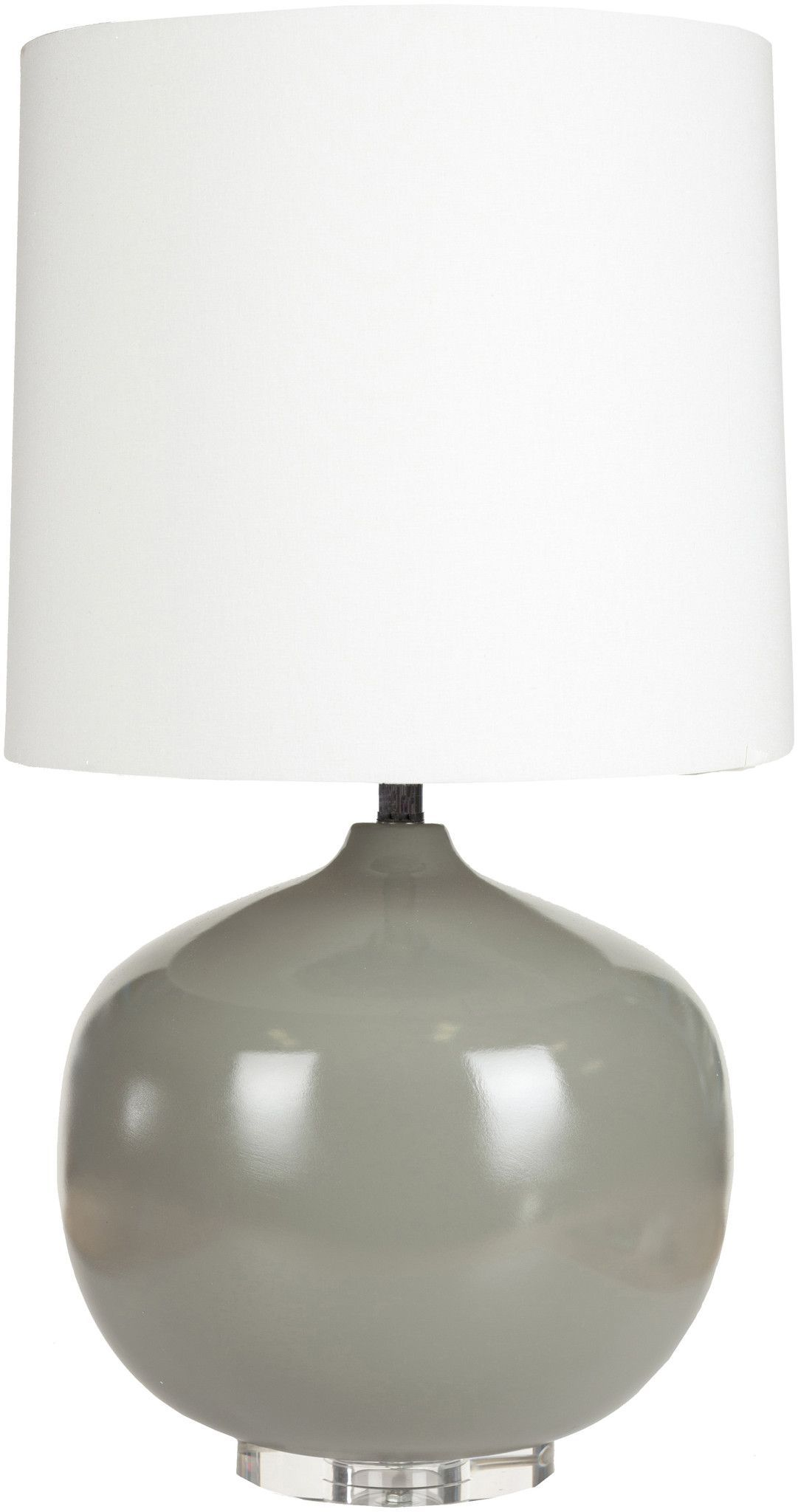 Colt Table Lamp in Grey design by Surya
