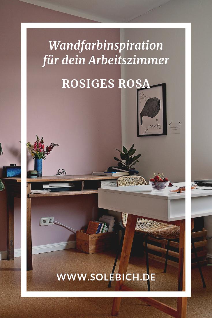 Neue Trendwandfarbe Rosiges Rosa Altrosa schlafzimmer