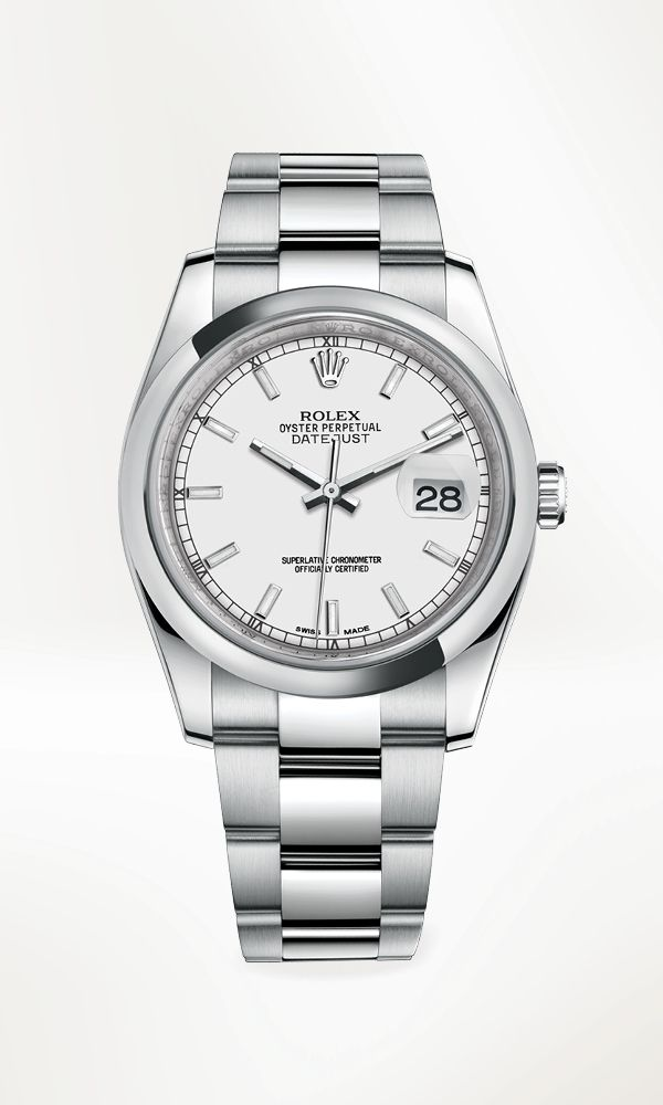 Rolex Datejust 36 in Oystersteel with a domed bezel e38d8a9094
