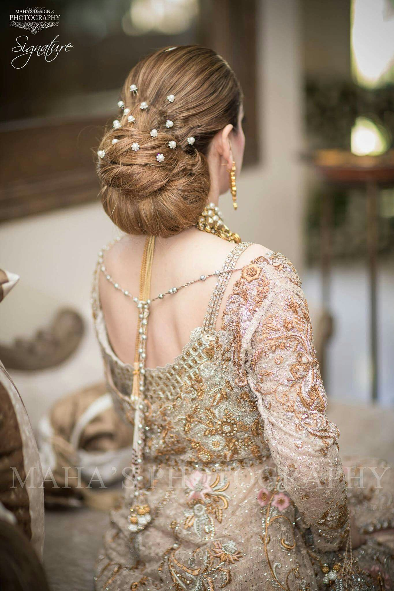 Pin By Raza On Western Low Bun Hairstyles Unique Wedding Hairstyles Bride Hair Accessories Indian Wedding Hairstyles