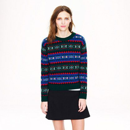 Harley of Scotland for J.Crew Fair Isle sweater | MON STYLE | A/H ...