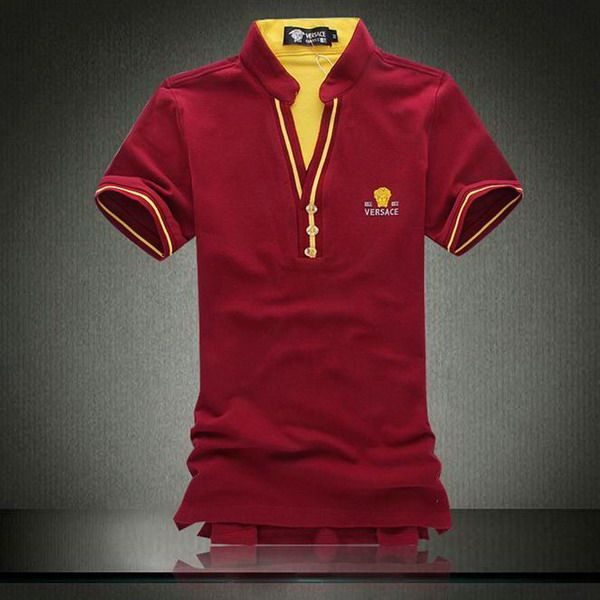 cheap ralph lauren polo shirts Versace Men's V-Neck Short Sleeve ...