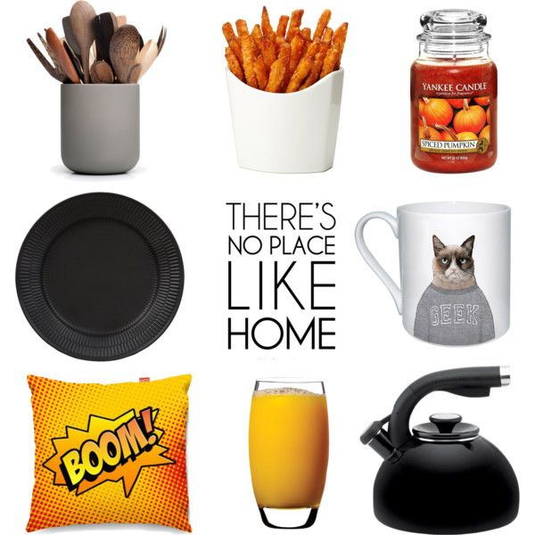 At Home by marina-volaric on Polyvore featuring interior, interiors, interior design, home, home decor, interior decorating, Royal Copenhagen, Luigi Bormioli, Yankee Candle and When Objects Work
