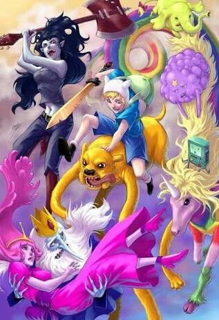 ... Alternative Adventure Time ...