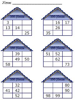 Hundred Chart House