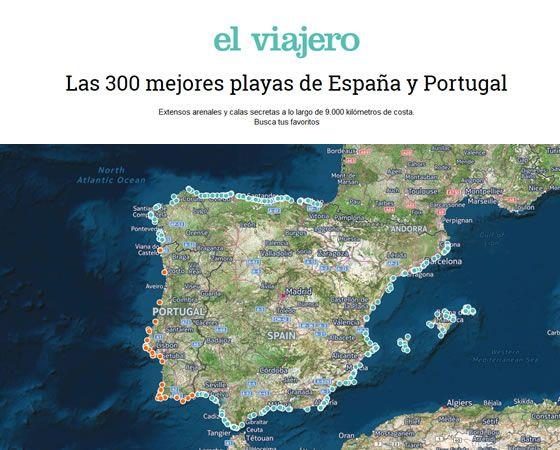 las 300 mejores playas de espana y portugal