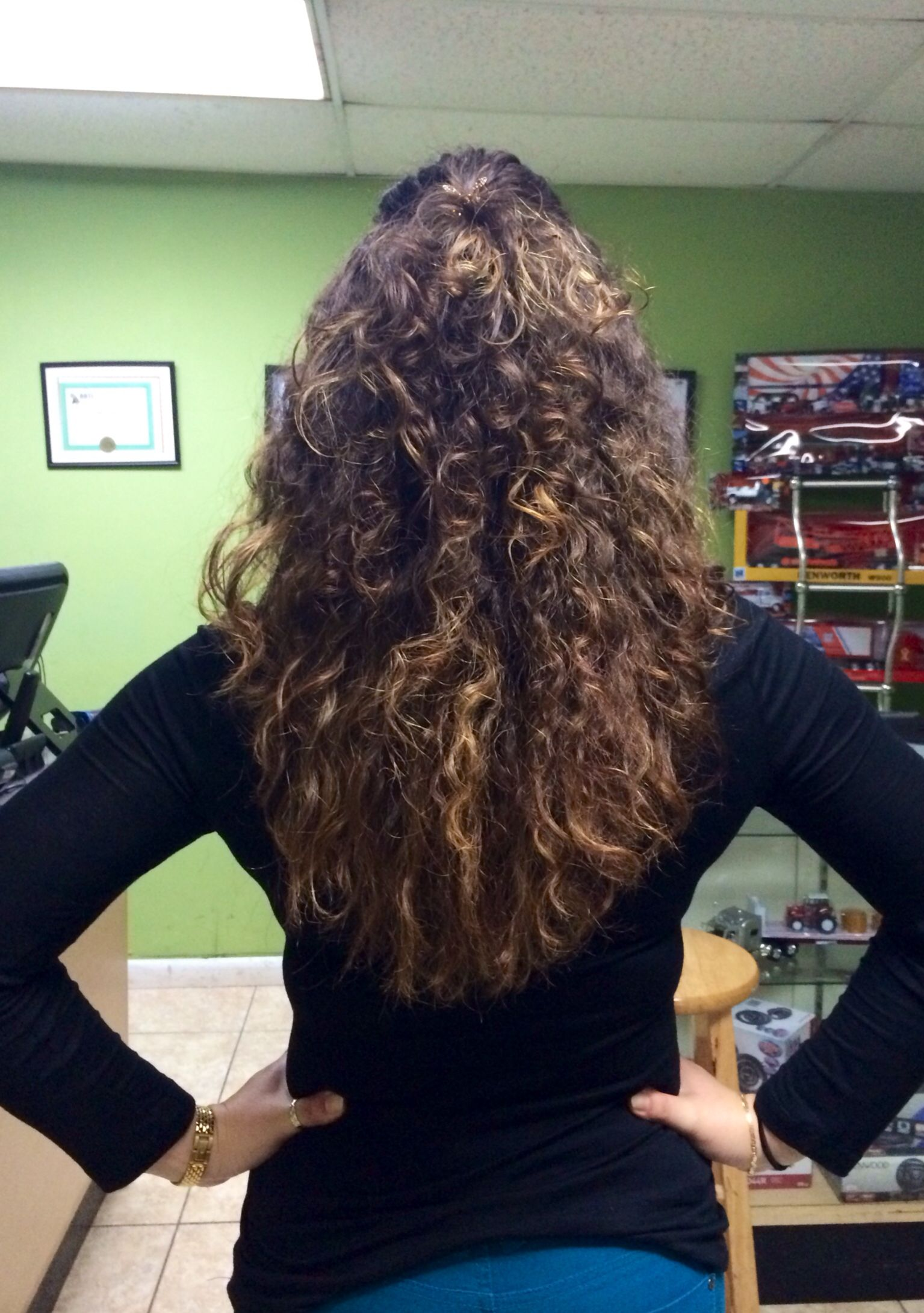Ombr Curly Hair Natural Curly Hair Highlights 2014 Pins By