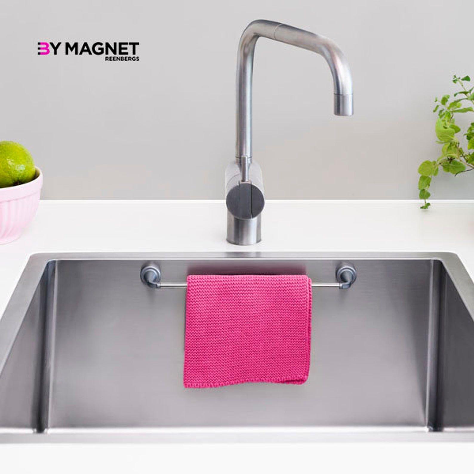 Magnetic Dishcloth Holder Etsy Sink Dish Rag Holder Sponge Holder