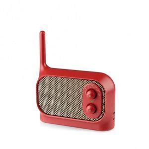 Mezzo AM/FM Radio - Red