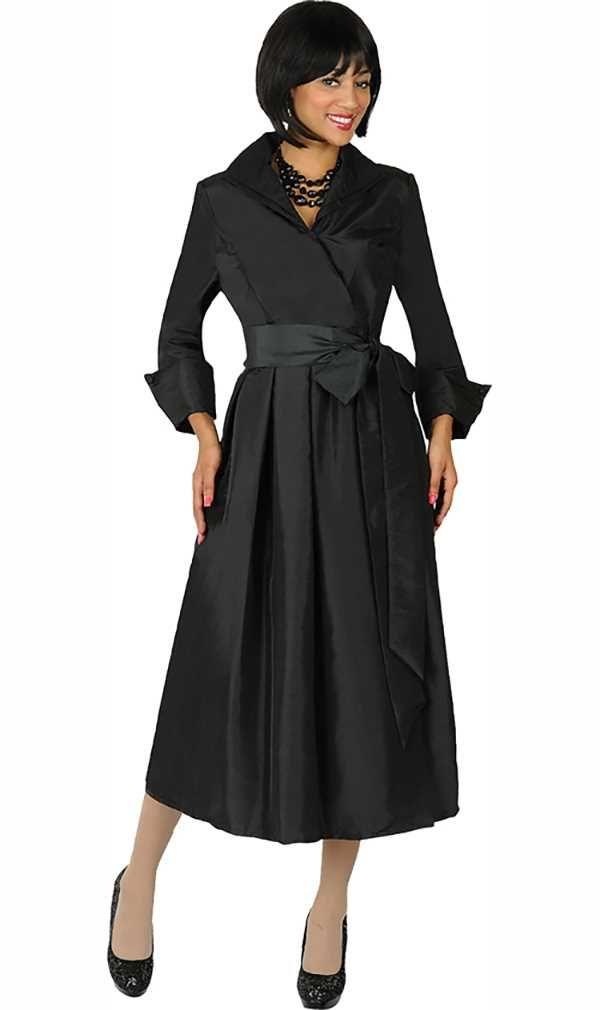 334f86bbc3 Nubiano Dresses DN5371-Black Dress For Church