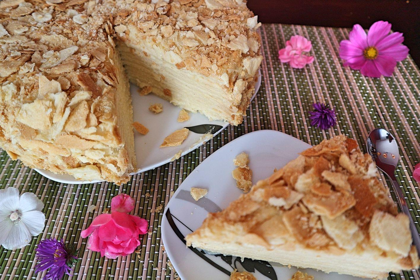 Napoleon Torte Rezept Fur Beliebten Russischen Kuchen Rezept Torten Rezepte Napoleon Torte Rezepte