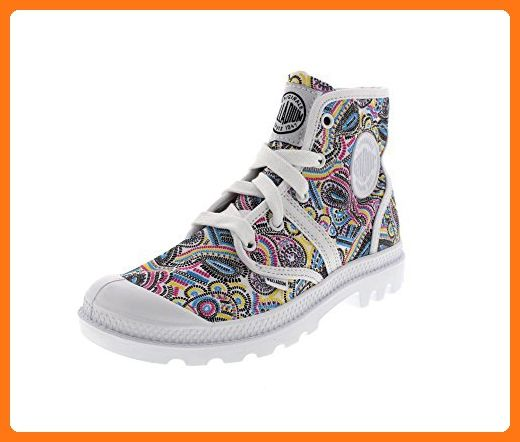 PALLADIUM Schuhe - PALLABROUSE CMYK - white multi, Größe:41