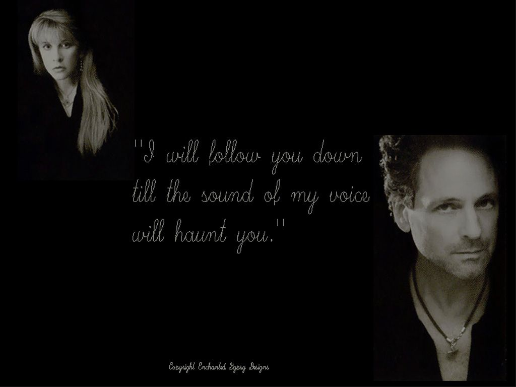 The Gypsy S Got Quotes: Say You Will Era Stevie Nicks And Lindsey Buckingham With