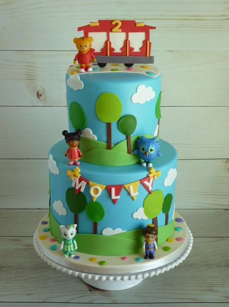 Mimis Sweet Cakes Bakes Daniel Tiger Birthday Cake Daniel Tiger Birthday Party Daniel Tiger Birthday