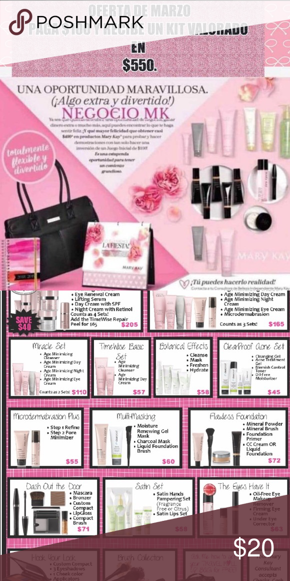 Mary Kay Mary kay starter kit, Mary kay, Mary kay business
