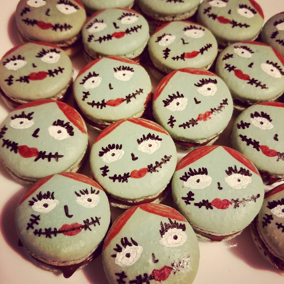 Nightmare Before Christmas In French.Sally Nightmare Before Christmas French Macarons For