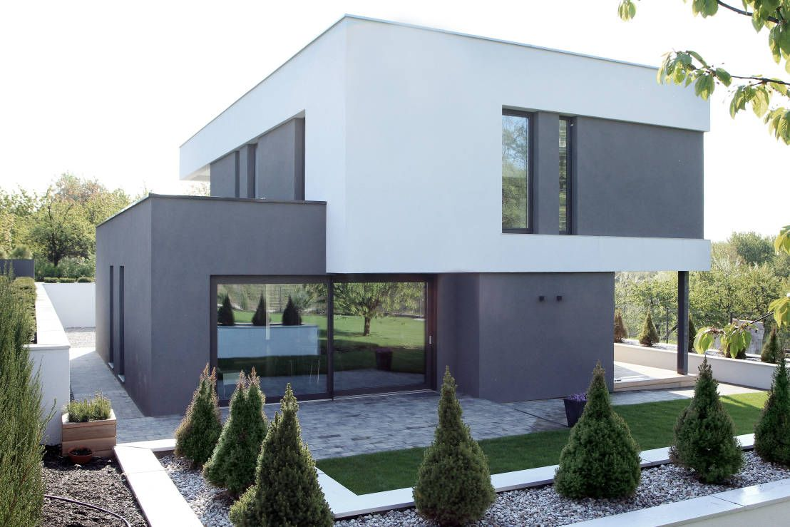 The Small House With Big Style Homify Facade House House Designs Exterior Modern Architecture