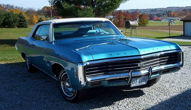 1969 impala sport coupe with hideaway headlights | 1960's