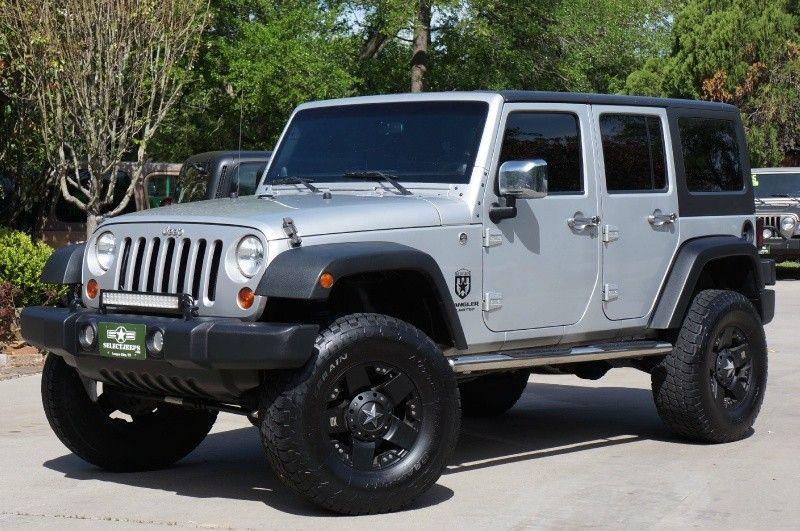 2011 Silver Jeep Wrangler Unlimited Sport! 25,995