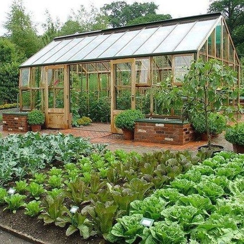 30 Fabulous Vegetables Garden Design Ideas is part of Potager garden, Backyard vegetable gardens, Vegetable garden design, Kitchen garden, Veggie garden, Farm gardens - Designing vegetable gardens for more compact landscapes may also incorporate the use of raised beds or containers too  There's also a mountain of excellent info and advice from various other gardeners that are available to you  Gardening isn't just fun, but it's healthier  By way of example, cherry tomatoes and ornamental peppers work nicely with flowers Vegetables Garden and herbs in containers is a great choice for those with limited space  Other vegetables which are commonly trellised include vining crops, including cucumbers and tomatoes