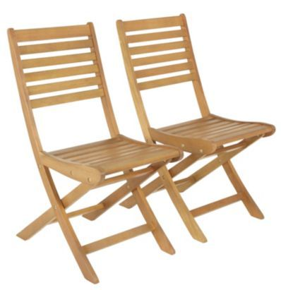 B Q Aland Wooden Chair Pack Of 2 5052931130009 Wooden Dining Chairs Wooden Chair Chair - B And Q Garden Furniture Clearance Sale