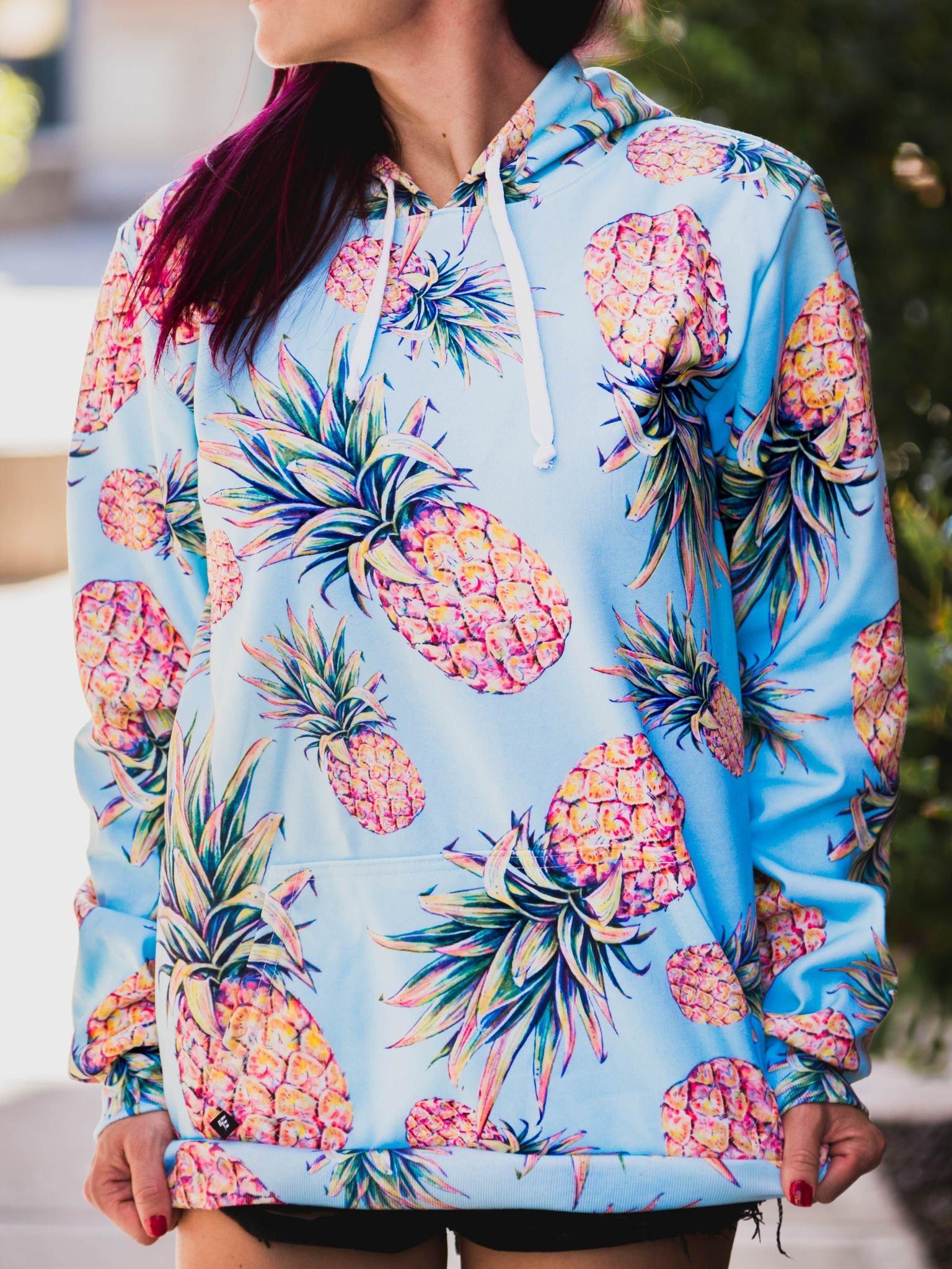 Pastel Pineapple Unisex Hoodie Unisex Hoodies Women Hoodies Sweatshirts Hoodies Womens [ 2048 x 1536 Pixel ]