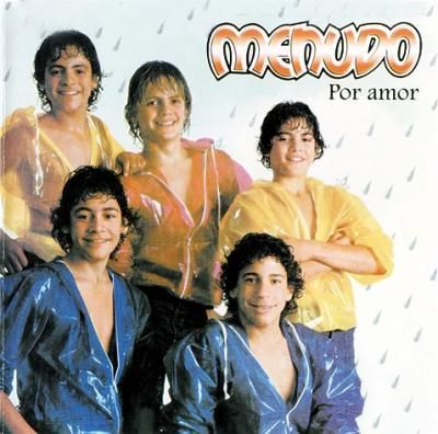 Menudo, the origin of Boys Band! :)