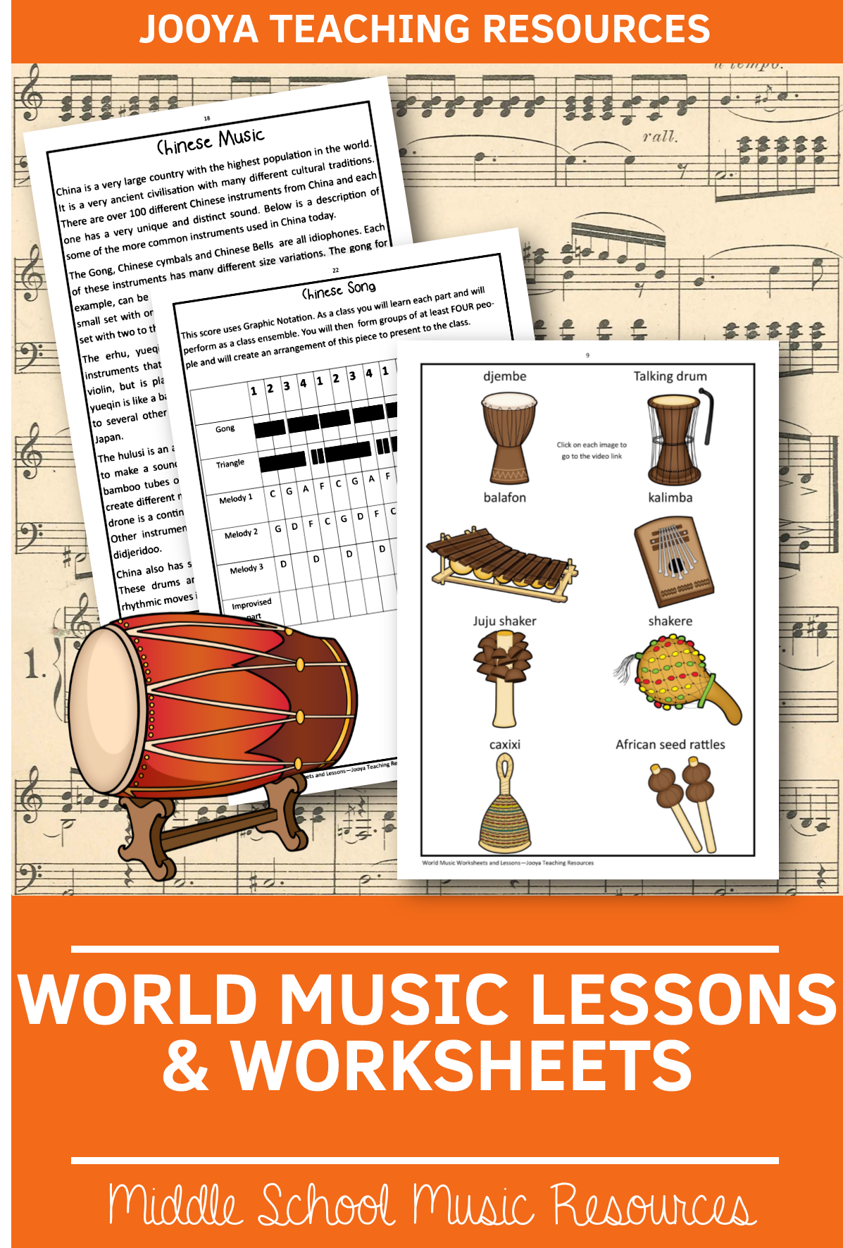 Your Music Classes Will Enjoy These Worksheets And Lessons