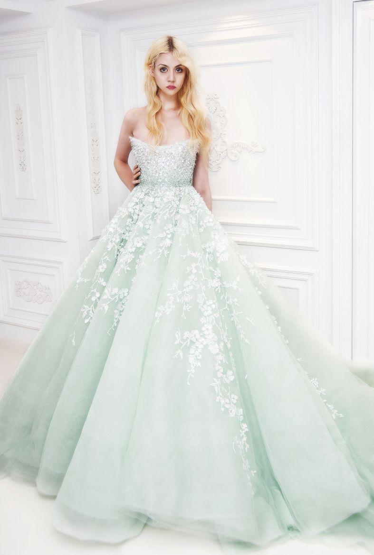 Michael Cinco By Elmer Magallanes 500px Mint Wedding Dresses White Wedding Dresses Colored Wedding Dresses [ 1170 x 787 Pixel ]