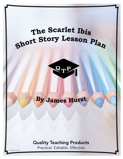 the scarlet ibis by james hurst worksheet and answer key save
