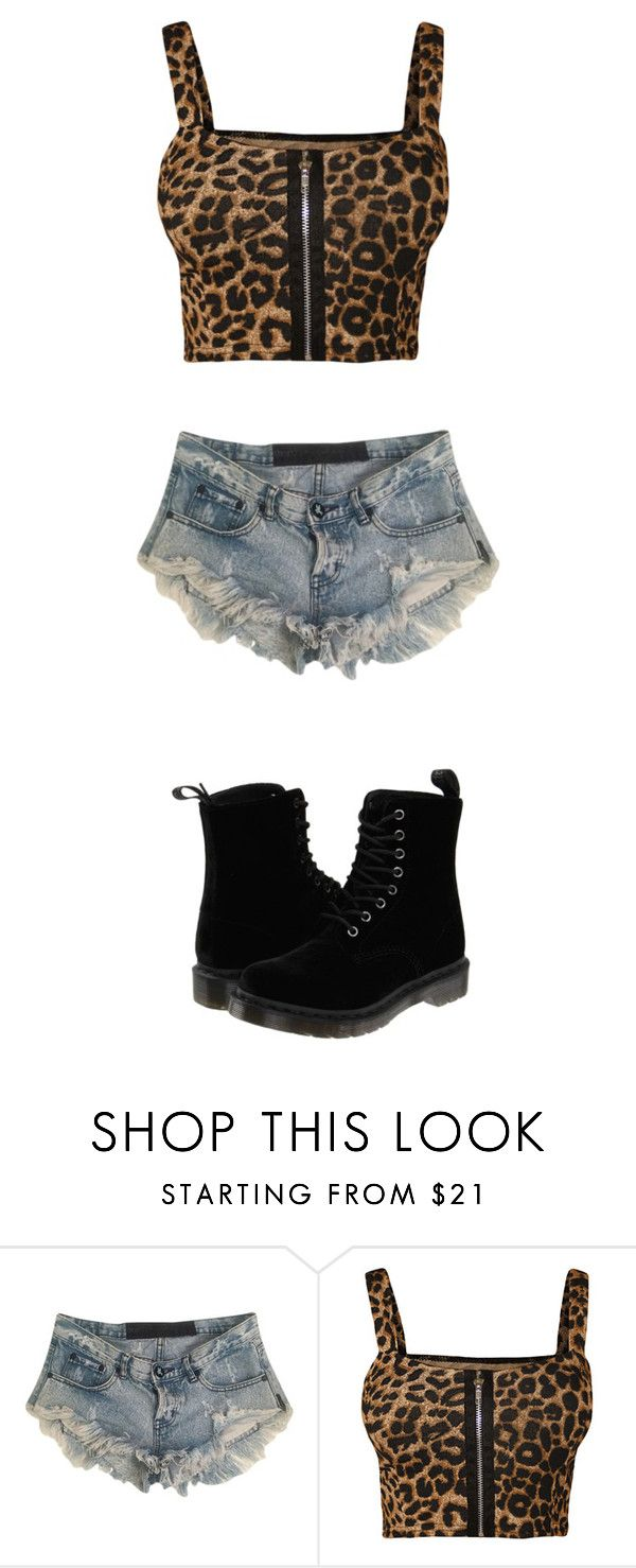 """""""Untitled #88"""" by taaywhitee on Polyvore featuring One Teaspoon, WearAll and Dr. Martens"""