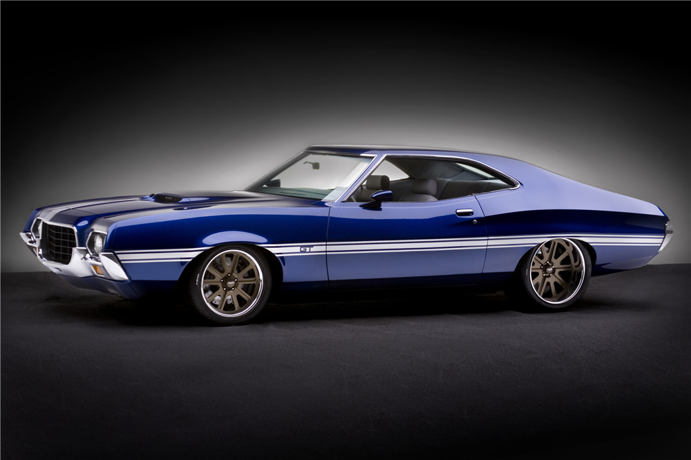 Sold At Las Vegas 2016 Lot 742 1972 Ford Torino Gt Custom Sportsroof Coupe