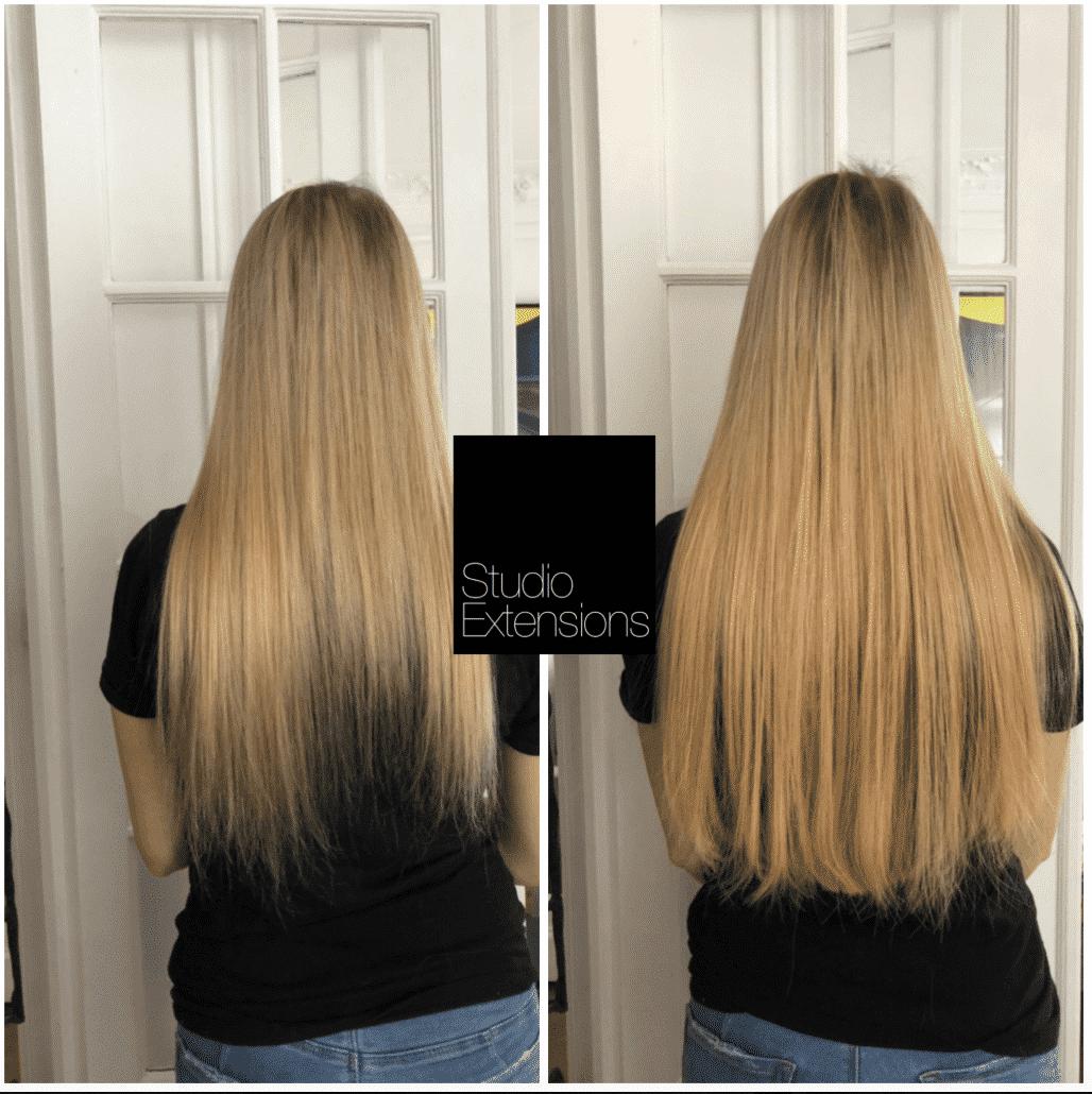 Exemples De Solutions D Extensions Pour Cheveux Fins Coiffure Cheveux Fins Cheveux Fins Changer De Coiffure