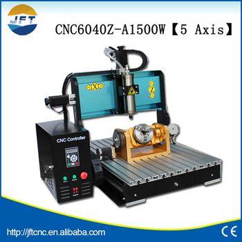 Good Price 6040 1500w Mini Cnc 5 Axis For Jewelry Gem