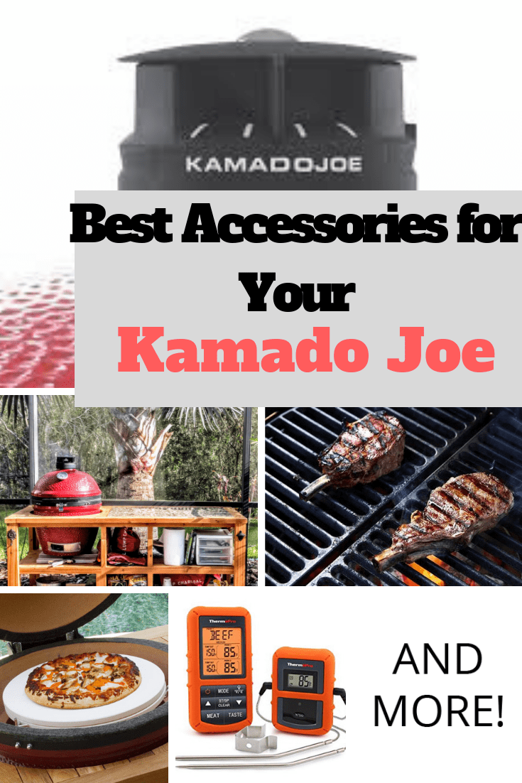 Kamado Joe Accessories 10 Must Have Accessories For Your Kamado Grill And More That Helpful Dad Kamado Joe Kamado Grill Recipes Kamado