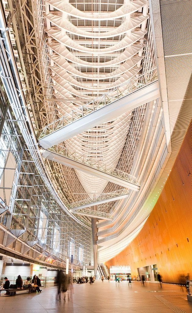 Tokyo International Forum, Japan #architecture ☮k☮