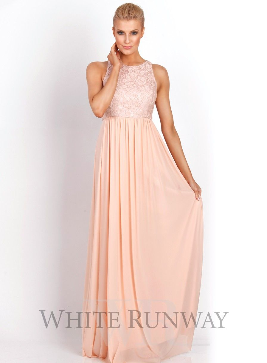 Aneeta Lace Dress. Beautiful full length bridesmaid dress. A ...