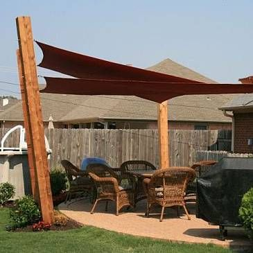triangular sail backyard patio sails canopy image sun shade shelter triangle for outdoor awnings awning full canopies red extra