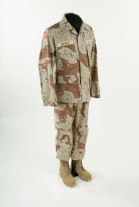 1//6 scale Universal Soldier Choco Chip Camo Long Sleeve Shirt