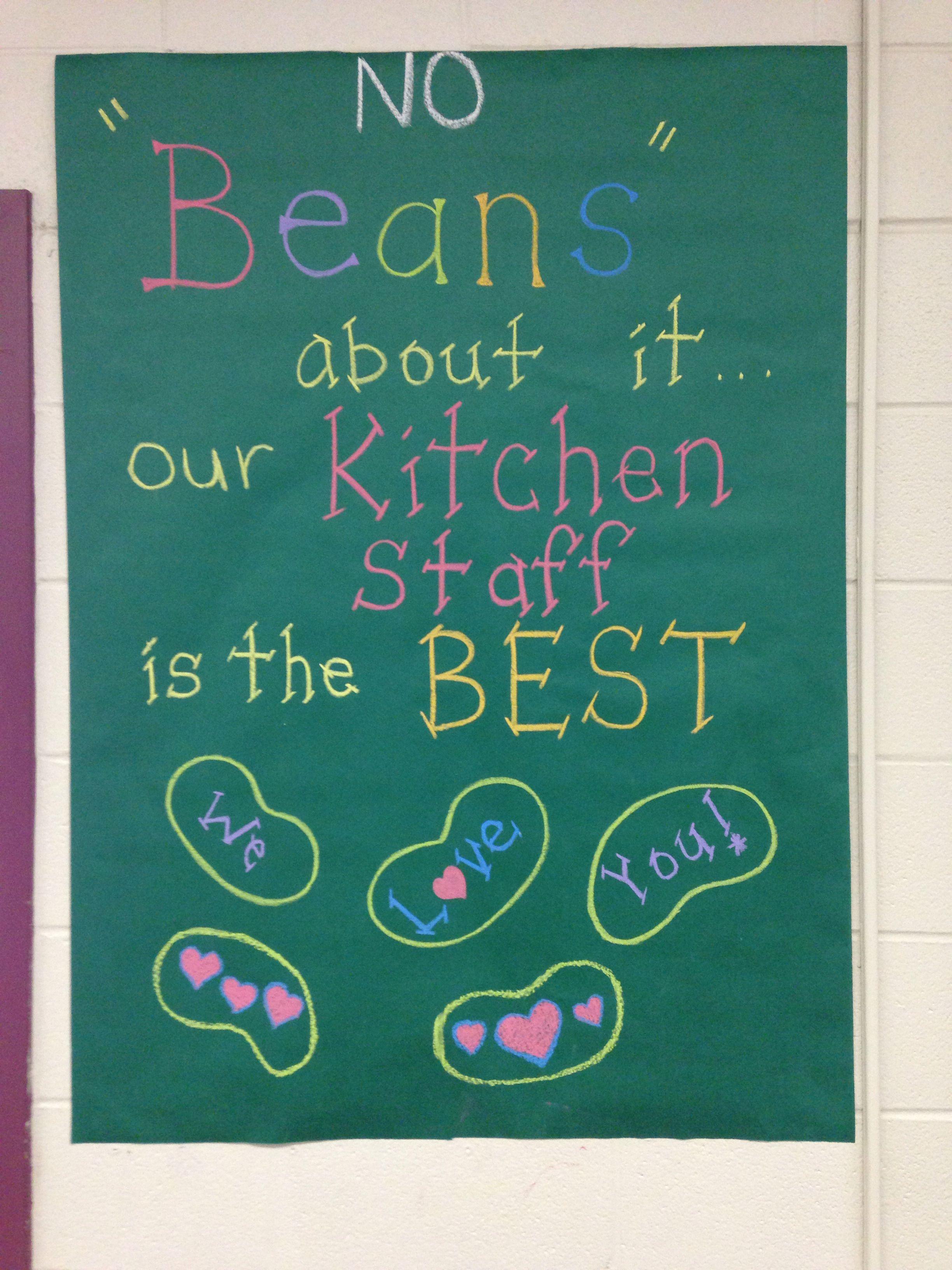 Lunch Lady AKA Kitchen Staff Appreciation posters