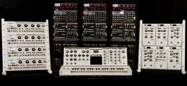 Gearjunkies.com: Moog Polarizes its Synthesizers, Releases All White Instruments