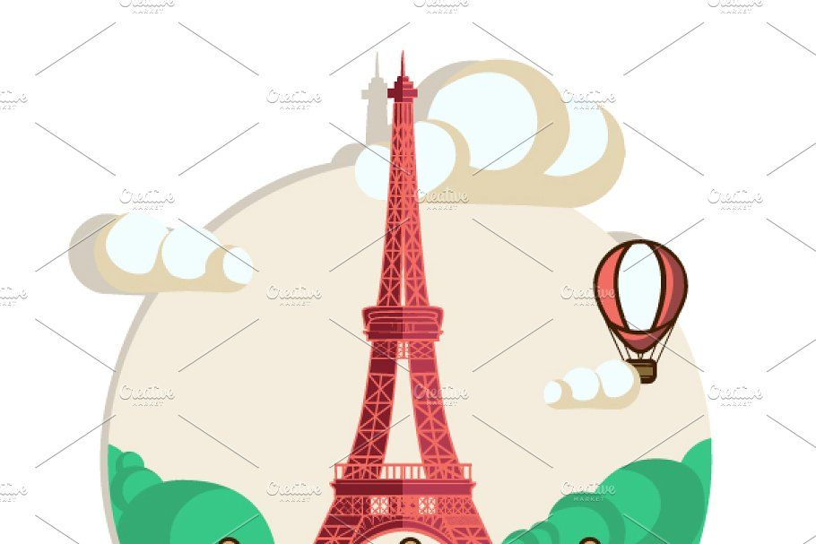 Photo of Postcards with Paris and Moscow , #spon, #Eiffel#Paris#Moscow#Tower #affiliate