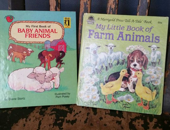 Check out this item in my Etsy shop https://www.etsy.com/listing/293009371/lot-of-2-vintage-childrens-books-about