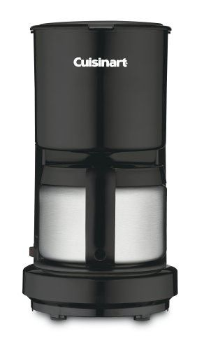 Cuisinart Dcc 450bkfr 4 Cup Coffeemaker With Stainless Steel Carafe Black Certified Refurbished Cuisinart Coffee Maker 4 Cup Coffee Maker Thermal Coffee Maker