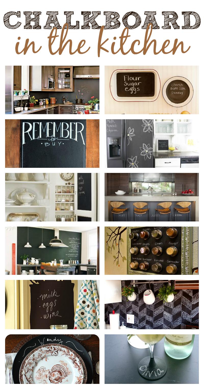 Chalkboard Ideas: In the Kitchen | DIY Ideas | Pinterest | Küche