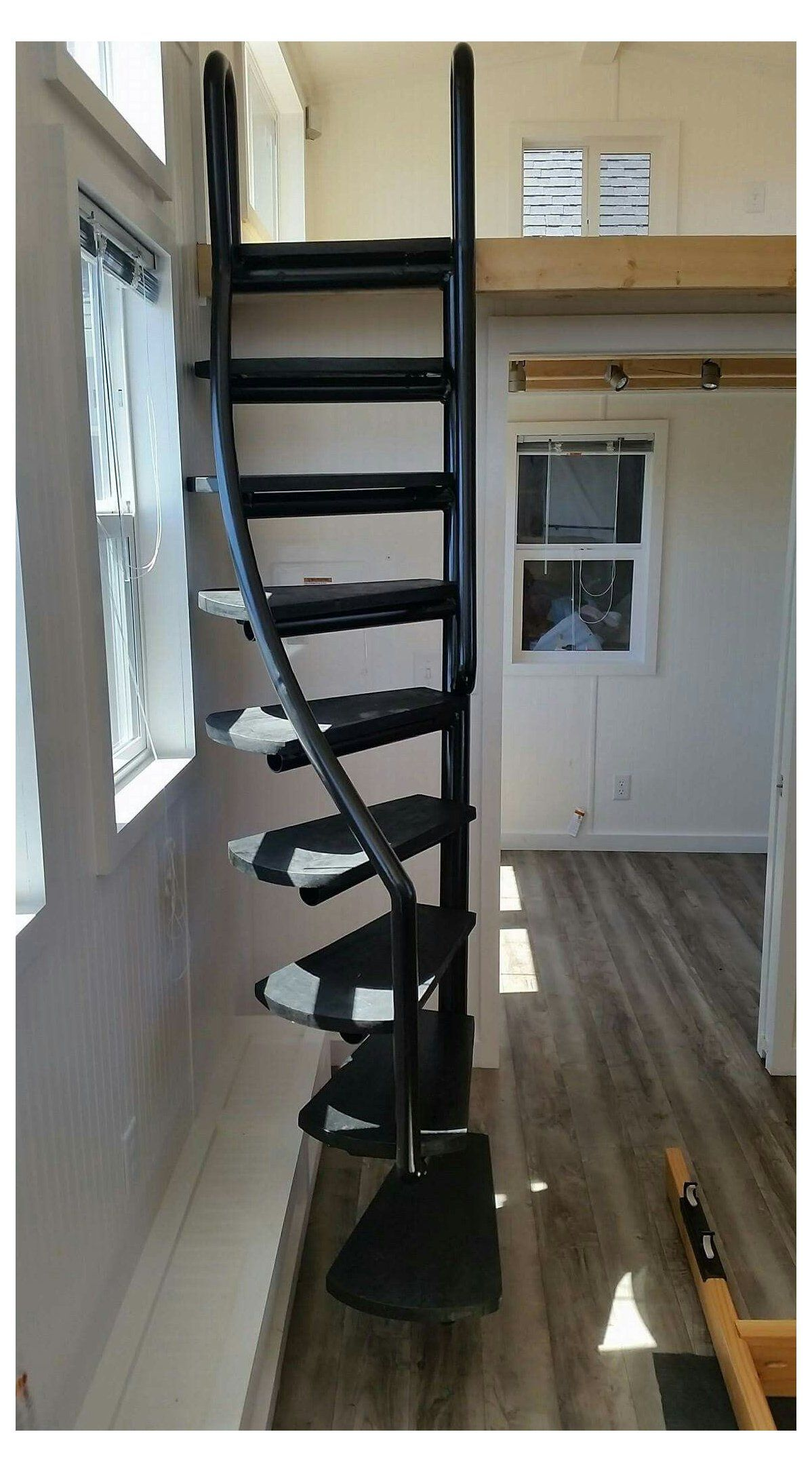 14 Fabulous Modern Attic Ladder Ideas Wardrobeorganization In 2020 Tiny House Stairs Attic Ladder Attic Remodel