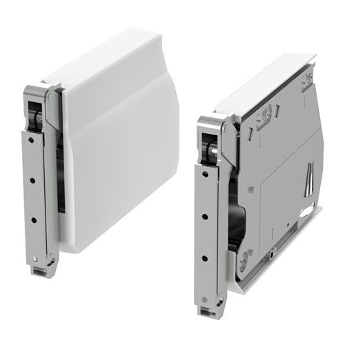 Utrusta Large Hinge For Horizontal Door White Hinges