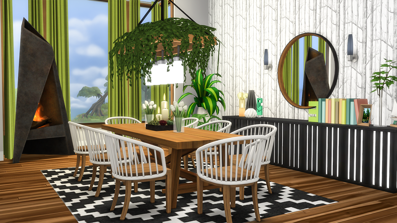 I Scrapped One Of The Dining Chairs From My Outdoor Set And Made This Beauty Instead I Think It Is Goi Outdoor Furniture Sets Outdoor Dining Sims House Design