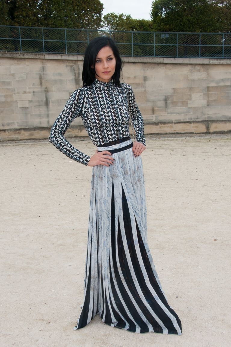 Hot trend: Long skirts